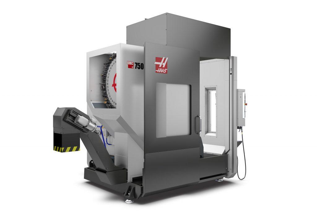 Haas UMC 750SS stock image