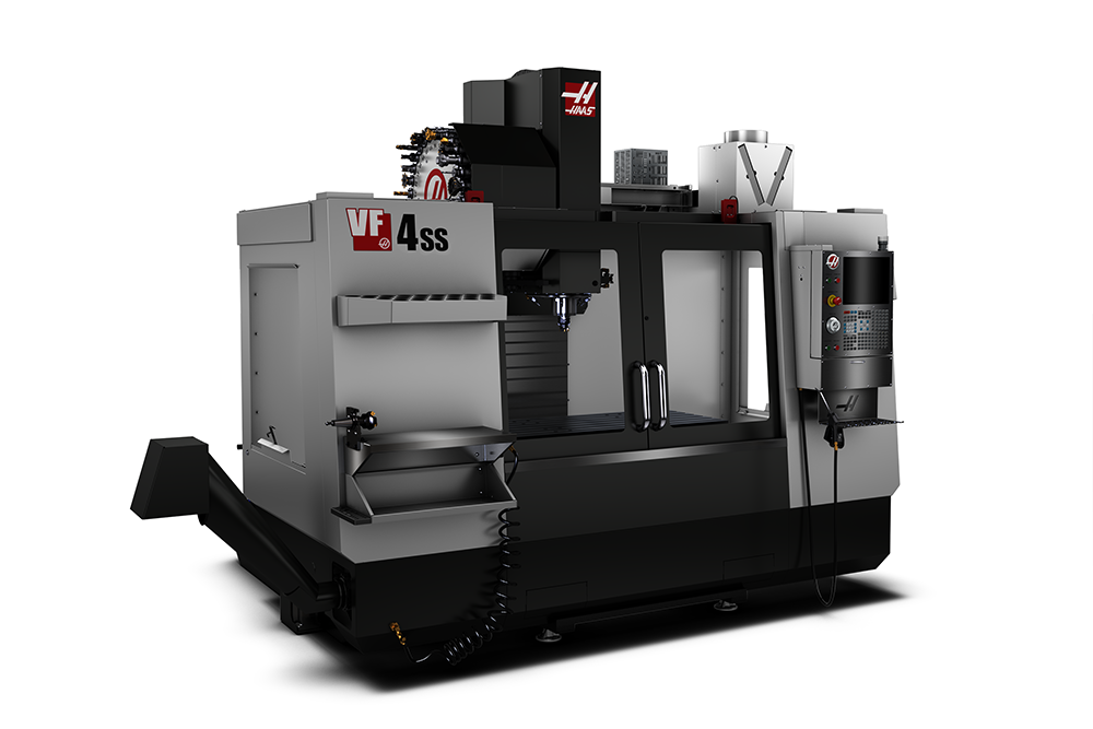 Haas VF4SS side image