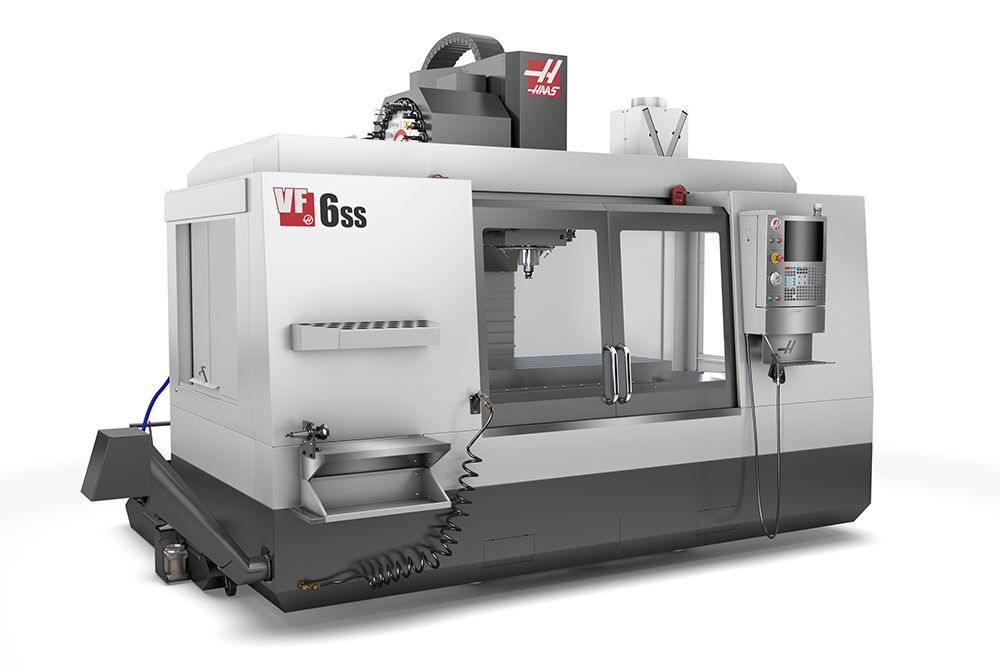 Haas VF6SS_40 side stock image