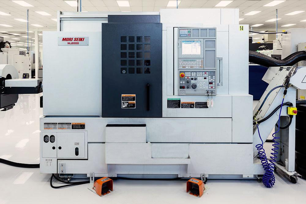 Mori Seiki NL2000 Mill