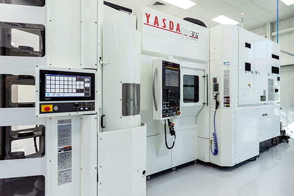 YASDA Machine _ front side